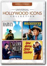 Harvey, The Glenn Miller Story. Winchester 73 1 more movie DVD New James Stewart