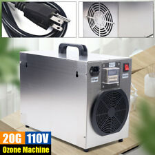 20g/h Ozone Generator 20g Ozone Machine Purifier Air Cleaner Disinfection 120W