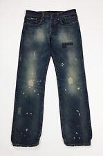 Rare rag recycle jeans uomo usato liverpool univ W33 L34 tg 47 boyfriend T4383