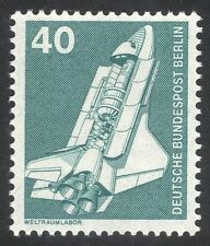 Germany (B) 1975 Space/Rocket/Shuttle/Laboratory/Transport/Science 1v (n25432)