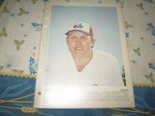 1978   Dimanche/Derniere Heure # WOODY FRYMAN  Montreal Expos