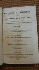 Edinburgh Gazetteer or Geographical dictionary volume 1 1822