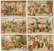 Chromo Liebig Sang. 718 ITA Arte Culinaria ANNO 1903