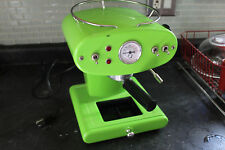 francis francis x1 espresso maker green Parts or repair 1999 model Made in Italy