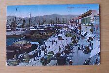 Turkish  [ OTTOMAN ]  Postcard  ***  Smyrne  ( Izmir )  Sea  Port