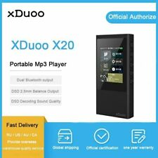 "xDuoo X20 2.4"" IPS Bluetooth 4.0 USB TF Card In-Car DSD256 Lossless Music Player"