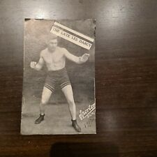 Very Rare & Collectable 1900's Boxing Fight Guessing Card Les Darcy
