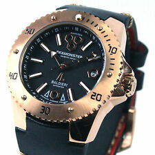 BALDIERI, AUTOMATIC, 38MM, ROSE GOLD SEAMONSTER PANAREA,  20ATM,