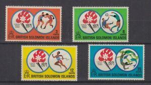 Salomon Îles 209 - 12 South Pacific Jeux Sport (MNH)