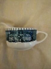 USA Blue & White w/Houses, Creamer Cup