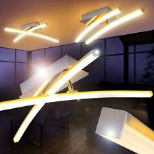 Led ceiling spot light 2 x 5 Watt kitchen flush lamp chromed lighting New 142433