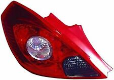 Vauxhall Corsa D 2006-2015 3 Door Rear Tail Light Lamp N/S Passenger Left