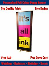 Event Popup Exhibition Banner - Personalised Popup Banner Free Design Artwork