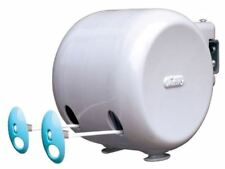 Minky 30m Retractable Reel Cloth Washing Line Double Laundry Garden Wall Outdoor