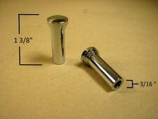 "1937 1964 Most GM Cars Chrome Plated Brass Door Lock Pull Pair 1 3/8"", CDB48R"