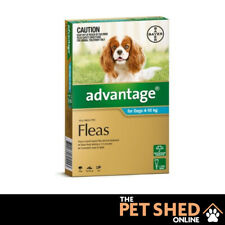Advantage Aqua Flea Control Treatment for Dogs 4kg - 10kg  Spot On ALL DOSES