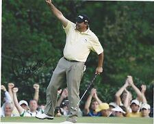 Angel Cabrera Signed Autographed 8X10 photo PGA Superstar Masters Champion