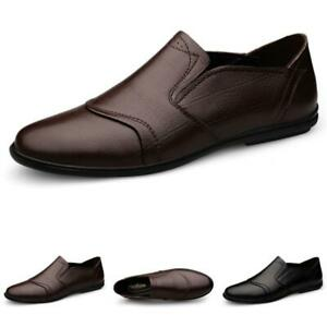 Mens Soft Comfy Driving Moccasins Business Flats Walking Slip on Loafers Shoes L