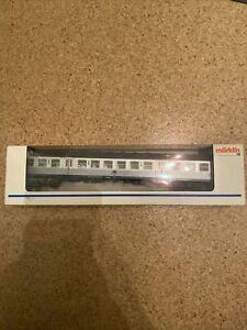 Märklin H0Personenwagen Silberling, Steuerwagen mit Beleuchtung, 4257