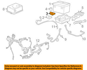 GM OEM-Battery Tray Washer 15956455