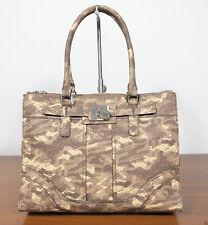 Unifarbene GUESS Damentaschen aus Kunstleder mit Außentasche (n)