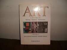 ART- A HISTORY OF PAINTING, SCULPTURE, ARCHITECTURE VOLUME 2  Paperback,Textbook