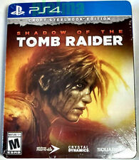 Shadow of the Tomb Raider Croft Steelbook Edition Brand New Ps4 Game PlayStation