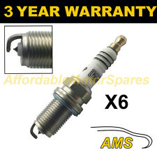 6X IRIDIUM TIP SPARK PLUGS FOR ALFA ROMEO 166 2.5 V6 24V 2000-2005