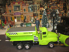 "TRAIN GARDEN VILLAGE HOUSE CARNIVAL "" SNOW PLOW REMOVAL "" + DEPT 56/LEMAX INFO"