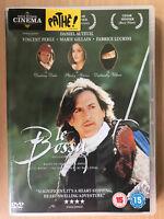 Le Bossu DVD aka On Guard ~ 1997 French Swashbuckler w/ Daniel Auteuil