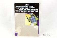Mixmaster Card 1985 Vintage Hasbro G1 Transformers