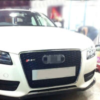 A5 Front Mesh Grill Grille for Audi A5 B8 & S5 2008-11 RS5 Style Chrome Frame