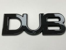 Dub Edition Badge Black Brand New VW Transporter T5 T5.1 T6 Golf GTi