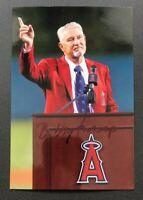 BOBBY KNOOP MLB Los Angeles Angels Baseball Auto Autographed Signed 4x6 Photo 5