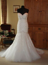 Morilee Lace Sleeveless Mermaid & Trumpet Wedding Dresses