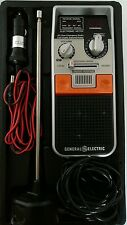 GE HANDHELD 40 CHANNEL EMERGENCY CB RADIO in travel storage case 3-5900