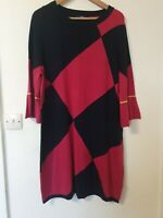 Next Diamond Thin Knit Jumper Dress Size 20