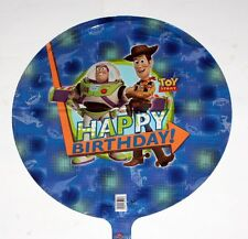 "TOY STORY CARTOON Walt Disney Pixar 18"" Diameter FOIL BALLOON SET 5 Pcs New"