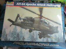 Revell Ah-64 Apache Attack Helicopter plastic model kit New,Vintage,Collector