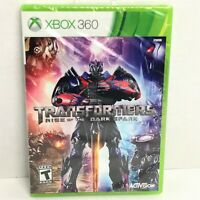 Transformers: Rise of the Dark Spark (Microsoft Xbox 360, 2014) Factory Sealed