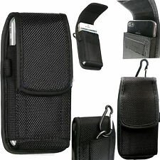 Universal Fastner Nylon Belt Loop Hip Case Cover Holster Pouch for HTC LG SONY