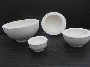 Gipsform Gießform für  Keramik Halbkugel  Ø 8,5 cm   Nr. 178