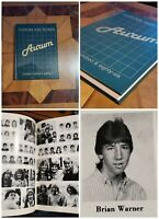 Marilyn Manson 11th Grade High School Yearbook Last Yearbook Photo High Grade