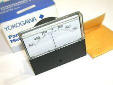 NEW YOKOGAWA PANEL METER 600AC AMPS 600-0-600 MODEL 251301DRDRBJEE
