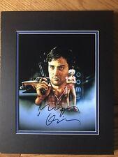Robert DeNiro, Taxi Driver! autographed 8x10 color photo! Coa!