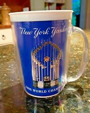 1996 NEW YORK YANKEES WORLD SERIES CHAMPIONS COMMEMORATIVE PLASTIC MUG *RARE*