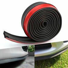 Car Universal Front Bumper Lip Splitter Chin Spoiler Skirt Rubber Body Protector
