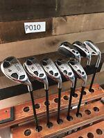 Mens Golf Powerbilt Hybrid Iron Set Regular Flex Graphite Shaft Right Hand 4-SW