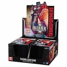 1x-Transformers Trading Card Game-guerra por Cybertron Siege me Booster Box nuevos Transformers T