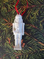 Nutcracker Ornament - Biscuit Porcelain  Nutcracker Ornament - Hutschenreuther